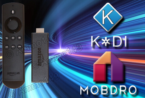Jailbroken Amazon Fire TV Stick With KODI
